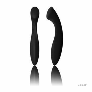 LELO Ella - kétvégű dildó (fekete)