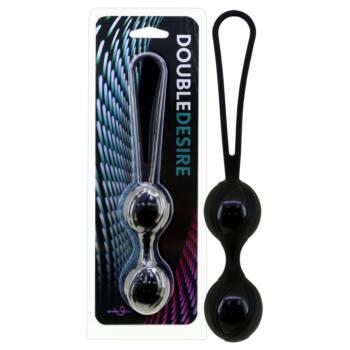 Double Desire - gésagolyó duó (fekete)
