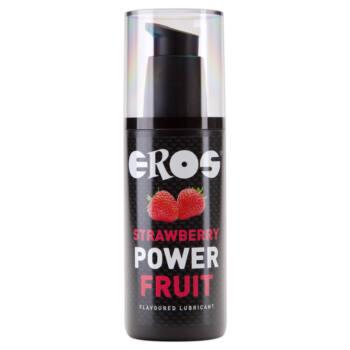 EROS Strawberry Power - vízbázisú síkosító (125ml)