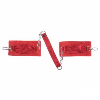 LELO selyem csuklóbilincs (piros)