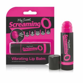 Screaming Lip Balm - rúzs vibátor (fekete-pink)